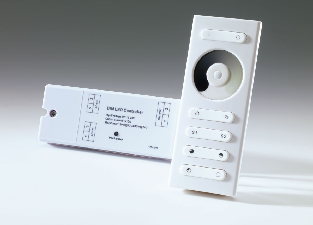 Basic remote control and receiver, Dimmer