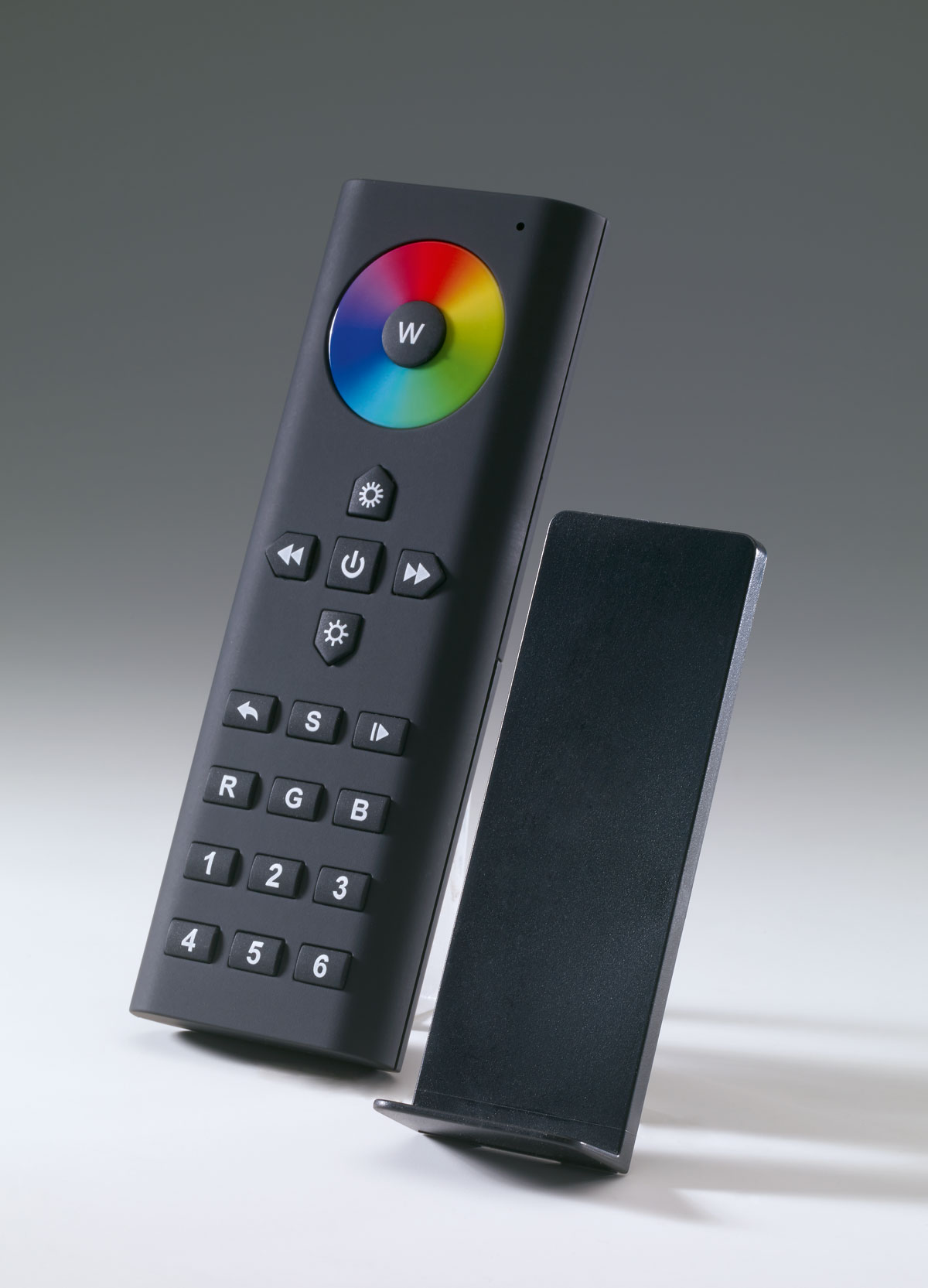 Premium remote control RGB-W, zone management, favorites, programs