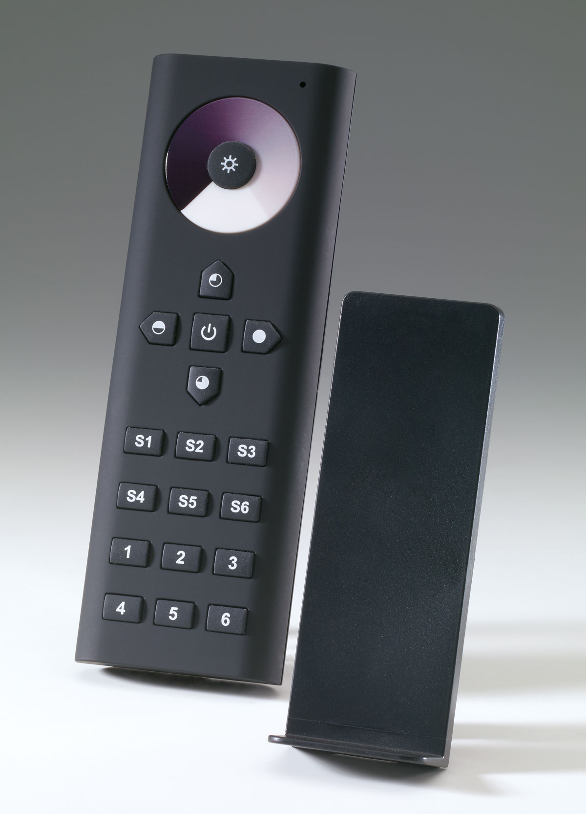 Premium remote control dimmer, zone management, favorites